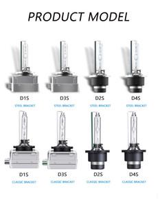 D1S / D2S / D3S / D4S HID Xenon Işık Yüksek Kaliteli Yedek Ampul Dönüşüm Kiti 12V Araba farlar farlar