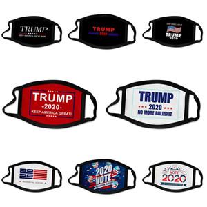 Mode Luxe Masque Visage Lettre Imprimer Masque Masques respirant unisexe réutilisable Lavable randonnée à vélo Designer Trump Face Mask # 156