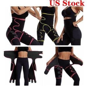 US STOCK, 12 Heures Body Shaper Taille jambe Femmes Entraîneur postpartum Ventre Minceur Sous-vêtements amincissants Fitness Modeling Sangle Corset FY8054