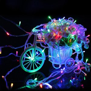صديقة للبيئة 20M قطاع RGB 220V الصمام ضوء سلسلة لشجرة ملون مقاوم للماء عطلة بقيادة عيد الميلاد الإضاءة حفل زفاف أضواء الديكور