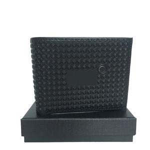 Portable Men's Cash Card Pop Gift Pocket Card Case Holder Clip Credit Craft New ID Set Wallet Top Leather European Designer Box Tgisc
