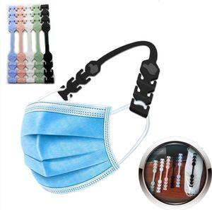 Maske Kulak Koruyucu Kanca Üçüncü Dişli Ayarlanabilir Kaymaz Maske Kulak Sapları Uzatma Silika jel Bandaj Toka Maske Hook