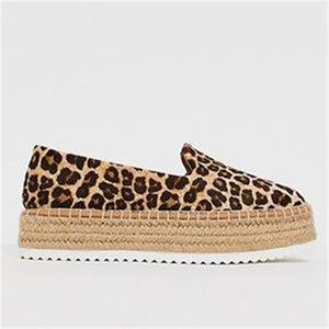 hot Oeak Faux Suede Espadrilles Shoes Slip-on Casual Loafers Women Platform Flats 2019 Ballet Flats Ladies Shoe Zapatos Mujer