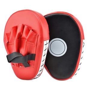 REXCHI 2 PCS retroceso de los guantes de boxeo del cojín del sacador de destino Bolso de los hombres de la PU MMA Muay Thai karate lucha libre de formación Sanda adultos Equipo de Niños