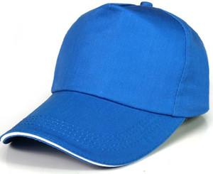 2019 Top-Herren-Tourismus Werbe-Hut kundenspezifischen Hut individuelles Logo Druckmuster fünf Baseball Sonnenhut Snapbacks Caps billig Kappe kappen Kappe Sport