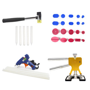 Auto Paintless Dent Repair Suction Removal Pro PDR Tools Car Body Kit Puller Lifter Glue Gun Set