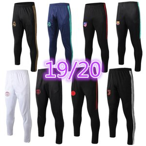 Pantalon long 2019 2020 Marseille AJ Pantalon de football Real Madrid Hazard Chandal Futbol Air Jogging Paris Mbappe Soccer Pantalons