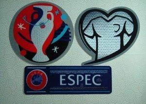 2016 Copa de futebol patches de futebol impressão quente emblemas ombro bom de qualidade reunindo adesivos carimbar braceletes braçadeiras impressos