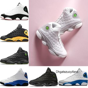 Discount Il Got Game Hommes 13s Chaussures de basket-ball Classe de 2003 Hyper Royal Blue Black Cat Sport Altitude bon marché Formateurs Chaussures Taille 41-47