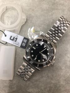 U1 fabbrica di alta qualità classico Mens Watch SUB 116610LN Sapphire 40MM quadrante nero lunetta in ceramica 316L Giubileo Strap Top orologio meccanico