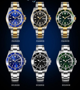 Principais Bezel Mens relógios automáticos cerâmicos Luxusuhr orologi da donna di lusso de luxo suíça de relógios com o logotipo à prova de água
