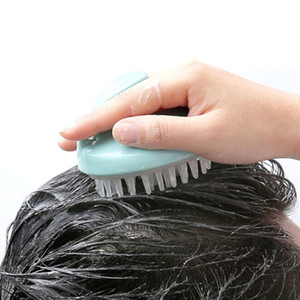 1pc New Soft Shampoo Hair Care Wash Skin Scalp Head Comb Massager Brush