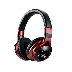 Drahtlose Kopfhörer Über-Ohr Bluetooth Kopfhörer faltbarer Stereokopfhörer mit Mic-Unterstützungs-TF-Karten-FM Audio Jack für Telefon