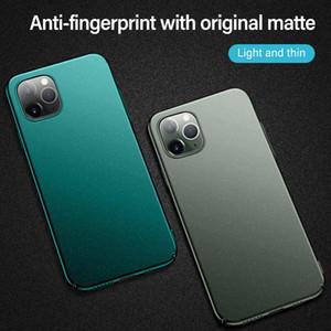 Ultra ince Manyetik Sabit Mat PC Telefon Kılıfı için iphonePhone 11 Pro maksimum SE XSmax XR XS X 8 7 6s 6 Plus Buzlu Koruma Kapak Shell