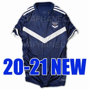 New 20 21 Girondins Bordeaux home soccer jersey 2020 2021 away football shirt Bordeaux Thailand quality maillot de foot camiseta de fútbol