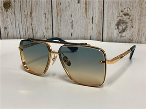 Nueva alta calidad gafas de sol para hombre seis hombres gafas de sol de las gafas de estilo de la moda protege los ojos Gafas de sol Gafas de sol con la caja 11