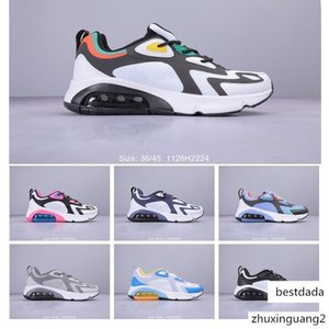 2019 New Arrival 200 Bordeaux Sports Running Shoes For Men Wome Team Gold Maxes 200s Cushion Sneakers Fashion Designer Chaussures Size 36-45