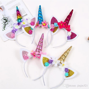 O partido bonito da cabeça do chifre Magical Girl Kid headband Fancy Dress Cosplay Retail decorativa e atacado