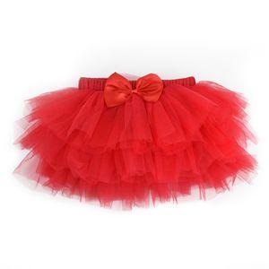 Baby Girls Skirts Tutu Clothes Baby's Ballet Dance Pettiskirt Summer Newborn Princess Bow Chiffon Miniskirt Birthday Gifts