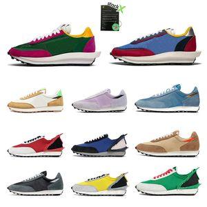 2020 Hot Quality Ldwaffle Running shoes For Men Women Green Gusto Pine Green White Grey Black Sacai LDV Waffle sports sneakers