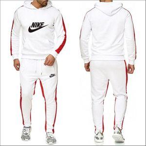 Sıcak Moda Yüksek Kalite Spor Suit Hoodie NIKE Suit Spor Erkek Kadın Triko Coat Pantolon Marka Kapşonlu Kıyafet Hoodie + Pantolon 2adet