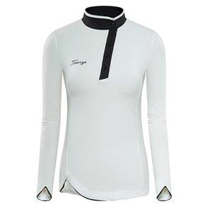 Womens Golf Apparel Woemen Shirts Long Sleeve Shirt Women Golf Shirt Team Uniform Clothing T-shirt Outdoor Sports Tops