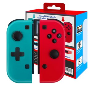 Bluetooth Wireless Pro Game Controller Gamepad Handgrip Joystick Joy Con(L R) with Strap Wakening for Nintend Switch NS Console