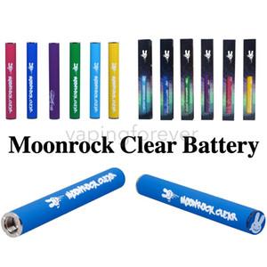 Moonrock Temizle Pil Dr. Zodiaks 350 mAh Ön Isıtma 10.5mm 510 Tomurcuk Dokunmatik LED Işık Vape Kalem Bobby Mavi Razzle Dazzle Arabaları Için Kartuş
