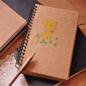 Sketchbook Дневник для рисования Рисование граффити Мягкая обложка пустой бумаги ноутбук Memo Pad школьный офис блокноты Канцелярские