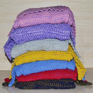 Mermaid Coperte per adulti a maglia Fish Tail Blanket Plus Size divano coperta di lana aria condizionata Coperte regalo di Natale 195 * 95 centimetri LQPYW1039