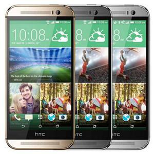 تم تجديده الأصل HTC واحدة M8 5.0 بوصة رباعية الهاتف الأساسية 2GB RAM 16GB 32GB ROM WIFI GPS 4G LTE مفتوح الروبوت الذكية DHL 1PCS