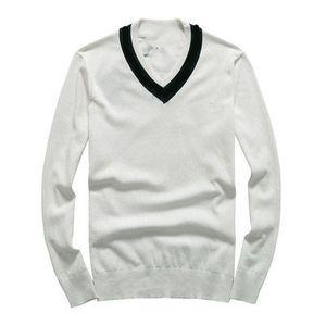 Marque Designer Homme d'hiver Gentleman Bees broderie tricot Pull Pull asiatique Taille de haute qualité Plug-Fashion Plus Size M-2XL
