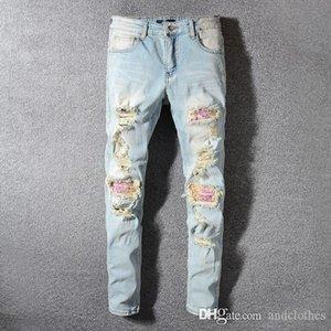 2019 Mens Designer Pants New Style Casual Skinny Sweatpants Mens Designer Jeans Drop Crotch Jogging Pants Mens Jeans designer jeans