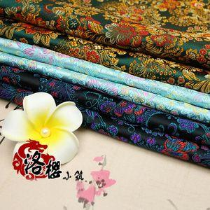 Costume chinês antigo vestido de roupa do bebê Kimono Cos de cetim de seda Costura Jacquard Tecido Brocade