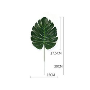 2016 3 Artificial Plant Monstera Leaves With Stems Tropical Palm 3 Best Inexpensive Amazing Canada 3 Artificial bde2010 rBiMb