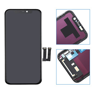 For iPhone 11 Retina LCD Display With 3D Touch Screen Digitizer Assembly Replacement For iPhone11 Parts With Gift