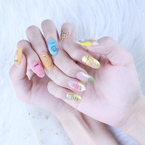 Nail Pascua Calcomanías lindo de uñas a prueba de agua pegatinas Partido temporal autoadhesivo etiquetas de DIY de manicura manicura Decoraciones 07 Calcomanías