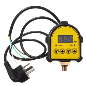 Freeshipping Digital Automatic Air Pump Water Oil Compressor Pressure Controller Switch For Water Pump On Off Au Plug