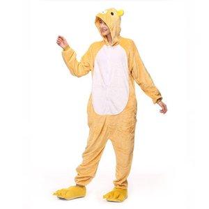 هالوين تأثيري حلي الكبار rilakkuma زي نيسيس الاسترخاء الدب منامة الأطفال بذلة الحيوان النوم قطعة واحدة