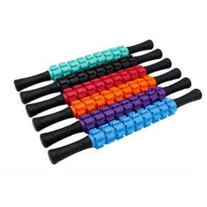 Attrezzo portatile Asta di massaggio Muscoli Rilassamento Roller Muscle Massage Stick Accessori Bodybuilding Muscle Relaxation Shaft