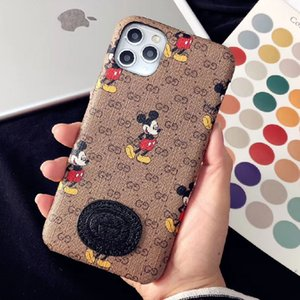 For Samsung S20 S10 S9 S8 Plus Note10 Leather Hard Phone Case for iphone 11 Pro Max 7 8 plus XS XR XsMax Phone Cover for Huawei P40 Mate30