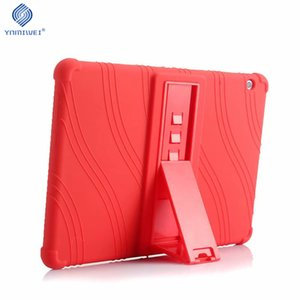Casos Tablet Acessórios Tablets e-Books Soft Case Capa Para Huawei MediaPad T3 10 Tablet Silicone Stand For Huawei T3 9,6 polegadas
