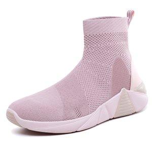 Высокое качество 2020 новых дамы спортивные туфли осенние и зимние дикие легкий моды женской обуви случайные розовый черный зеленый оптом
