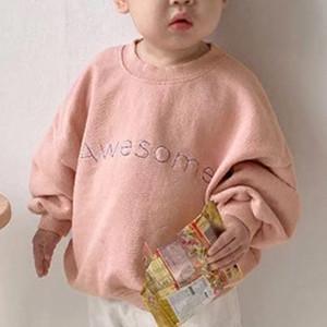 Nouveautés INS Enfants Filles Sweats Fashions Patchwork Designs Automne Hiver haut col noir Hauts shrits pour 1-3T