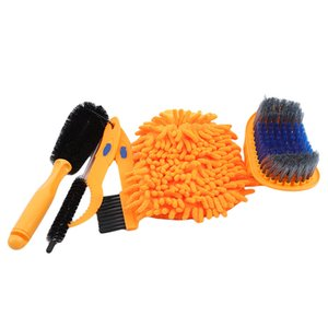 Bicycle Chain Cleaner Scrubber Brushes Mountain Bike Wash Tool Set Cycling Cleaning Kit Bicycle Repair Tools Accessories