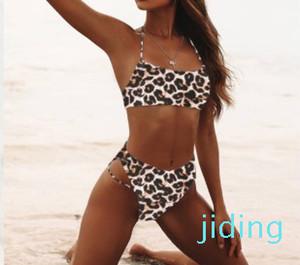 fashion-Wholesale- Sexy Bikinis Solid Push Up Bikini 2019 Hot Sale Padded Bra Straps High Waist Swimsuit Swimwear Women Print Biquini XL