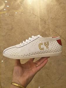 Sıcak SATıŞ Erkekler Tasarımcı Lüks Rahat Ayakkabılar Mix Renk PU Deri Kadınlar Marka Baba Sneakers Moda Eğlence Ayakkabı Ile gd190703
