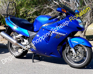 혼다 CBR1100XX 블루 페어링 96-07 CBR1100 XX CBR 1100XX 1,996에서 2,007 사이 오토바이 카울링 키트 + 무료 선물 윈드 스크린 (사출 성형)