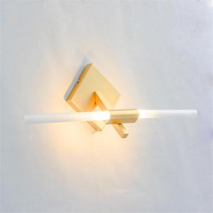 Modern LED Wall Lamps Aluminum Mirror Headlight Art Living Room Wall Light Corridor Interior Lighting Decor Lights for Home