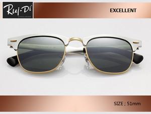 nuova vendita calda in alluminio Retro Club 51 millimetri maestri degli occhiali da sole di marca del progettista annata delle donne degli uomini rd3507 Coating sfumato rosa Occhiali Occhiali da sole.